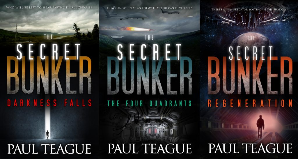 Covers for The Secret Bunker