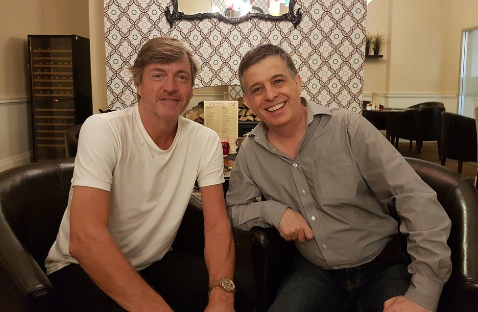 Paul Teague with Richard Madeley