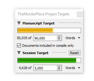 Writing word count